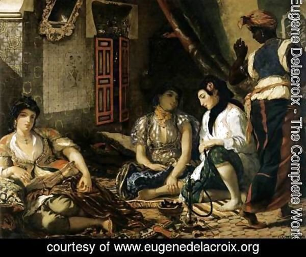 Eugene Delacroix - Women of Algiers in their Apartment