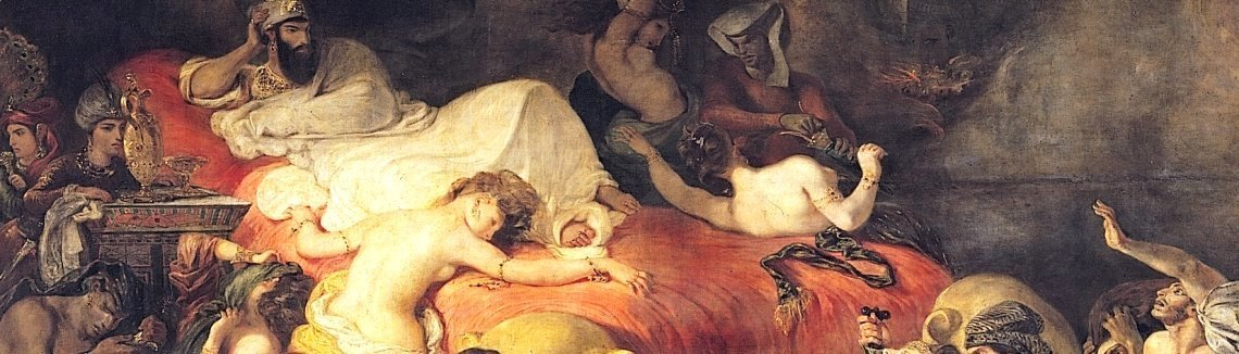 Eugene Delacroix - The Death of Sardanapalus