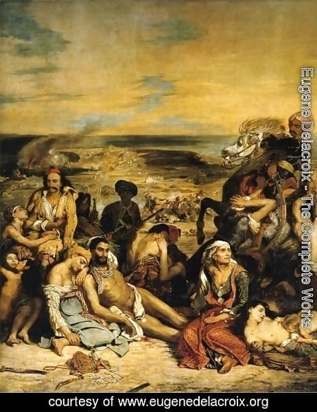 Eugene Delacroix - The Massacre of Chios