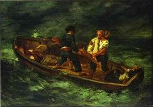 Eugene Delacroix - After the Shipwreck