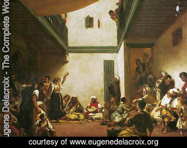 Eugene Delacroix - Jewish Wedding in Morocco