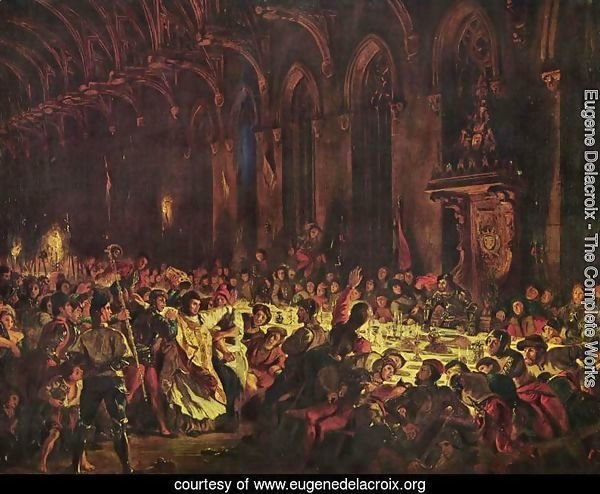 Murder of the bishop von Luettich