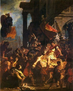 Eugene Delacroix - The Justice of Trajan