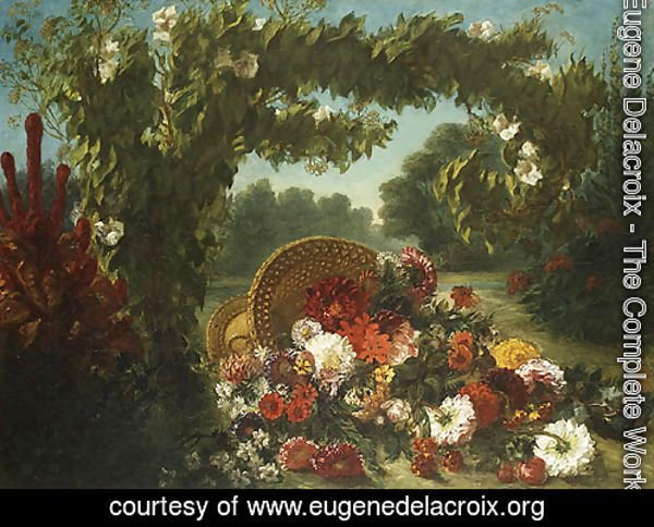 Basket of Flowers 1848