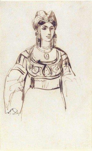 Eugene Delacroix - The Complete Works - Mehmet II, Sultan of