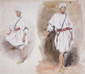 Two Views of a Young Arab