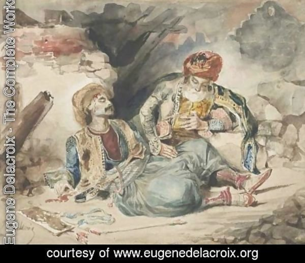 Eugene Delacroix - The Dying Turk