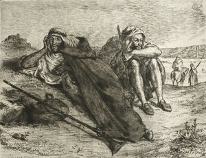 Eugene Delacroix - Arabs of Oran