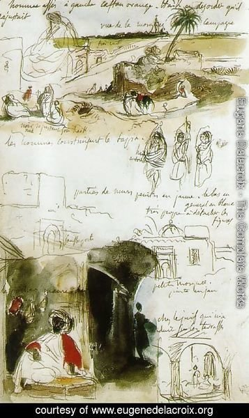 Page from the Moroccan Notebook
