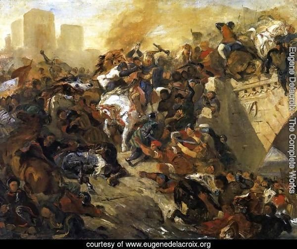 The Battle of Taillebourg (draft) 1834-35