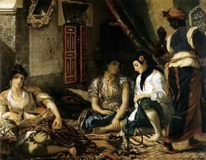 Eugene Delacroix - The Women of Algiers 1834