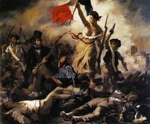Eugene Delacroix - Liberty Leading the People (28th July 1830) 1830