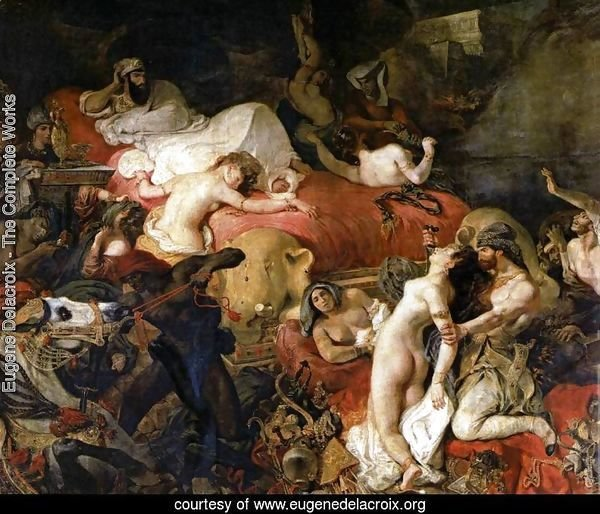 The Death of Sardanapalus 1827