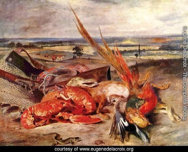 Still-Life with Lobster 1826-27