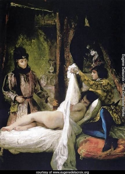 Louis d'Orleans Showing his Mistress 1825-26