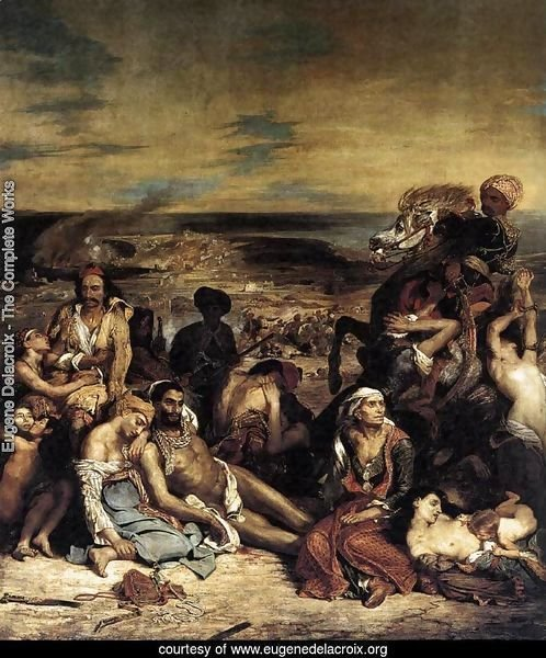 The Massacre at Chios (1) 1824