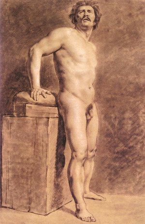 Male Academy Figure  Probably Polonais  Standing