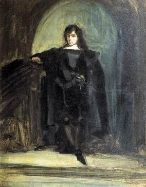 Eugene Delacroix - Self-Portrait as Ravenswood c. 1821