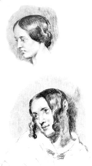 Eugene Delacroix - Study For Jenny Le Guillou And Josephine De Forget