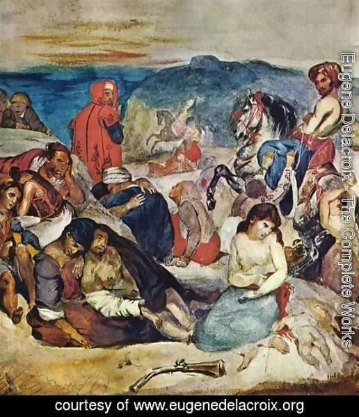 delacroix massacre at chios
