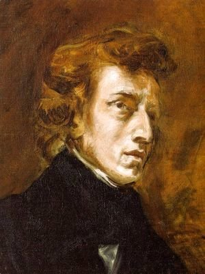 Portrait of Frédéric Chopin (unfinished) 1838